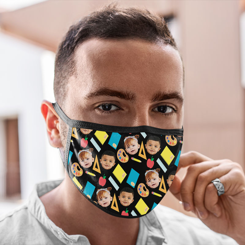 Customised Reusable School Face Mask