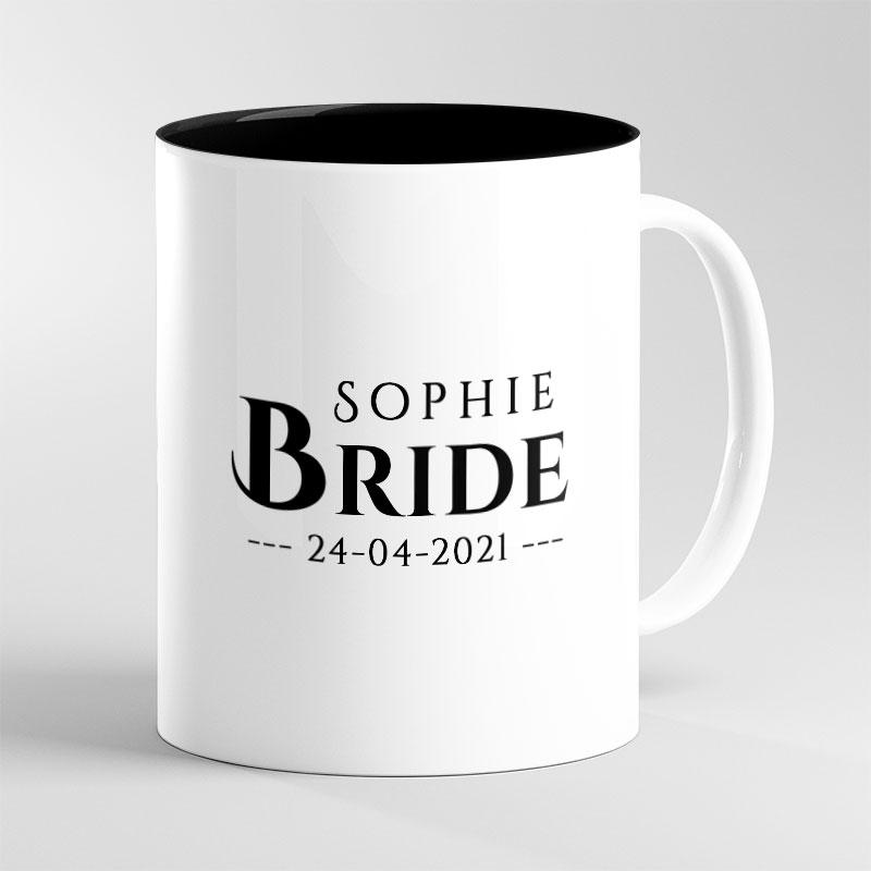 Personalised Wedding  Bride-To-Be Mug