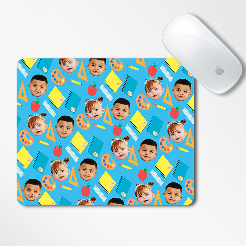 Personalised School Mouse Pad