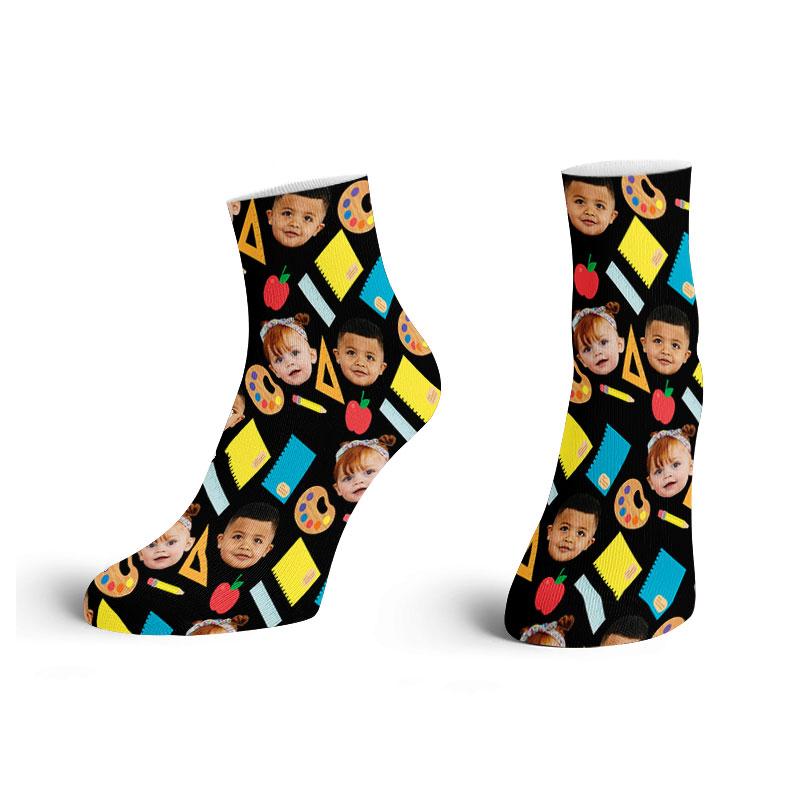 Customised School Ankle Socks