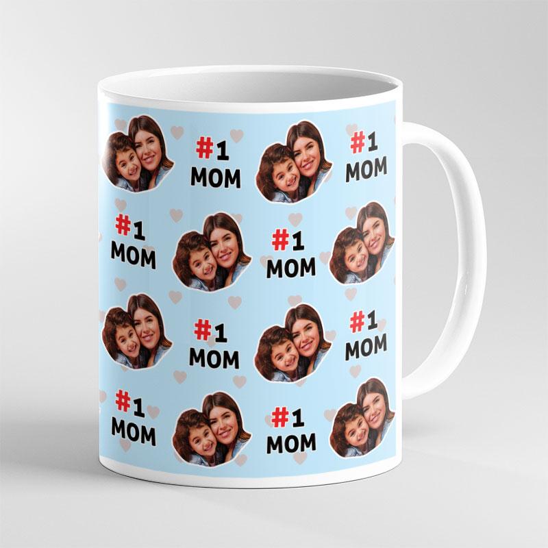 Number 1 Mom Mugs