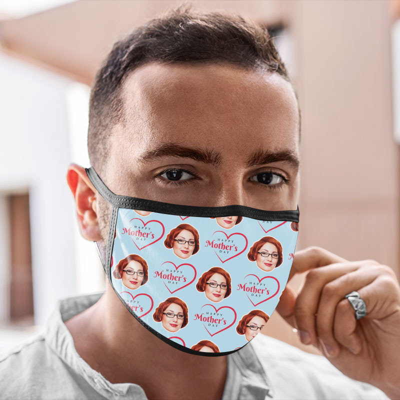 Washable Mother's Day Face Mask