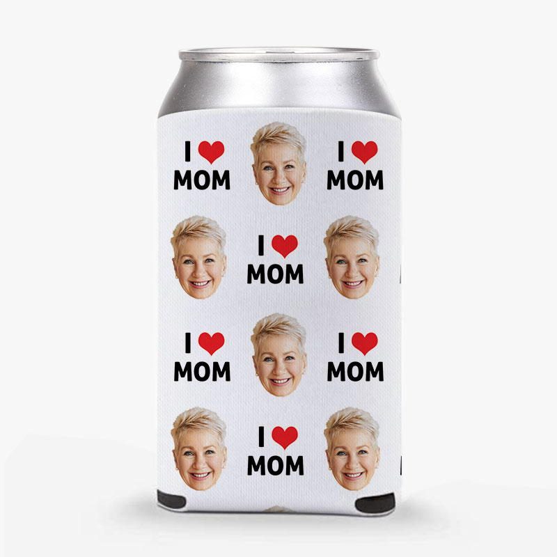 I Love Mom Stubby Holders