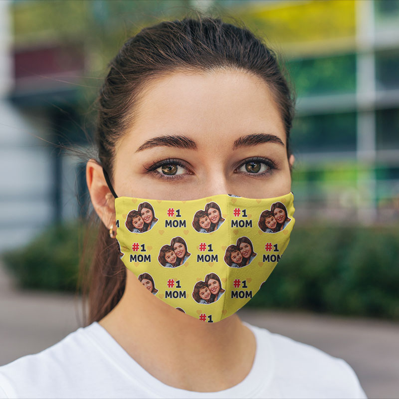 Hexa No 1 Mom Face Mask