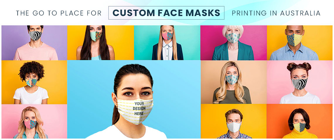 Personalised face mask by printyo