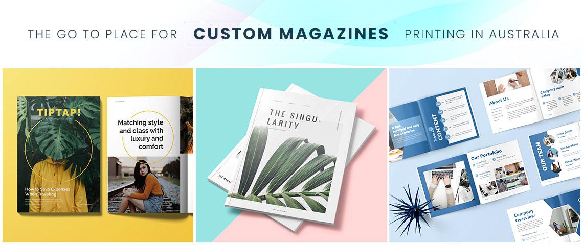 personalised magazine printing banner