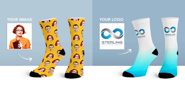 Personalised Socks mobile banner