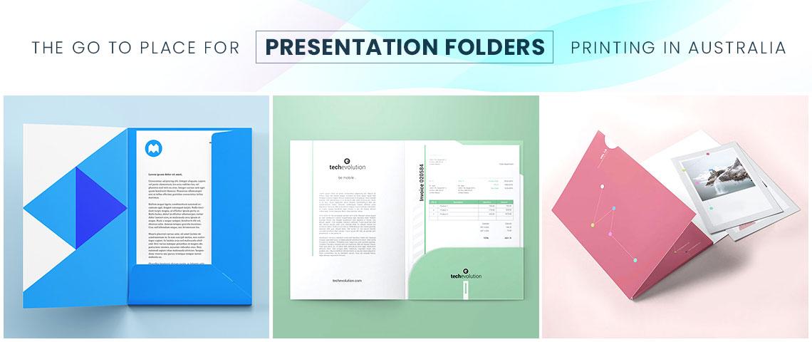 presentation folder banner